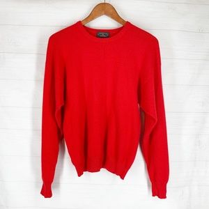 Charter Club CASHMERE Sweater M Red Pullover
